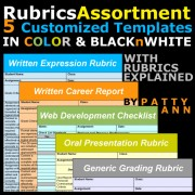 Rubrics Assortment